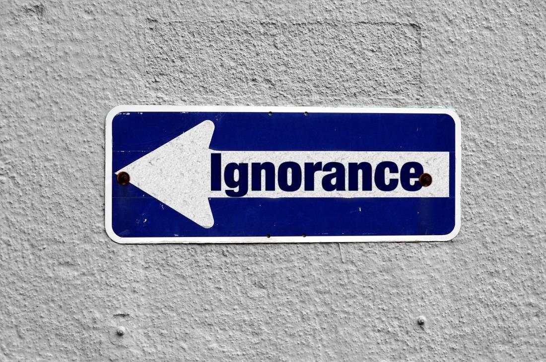 ignorancia vete por alli